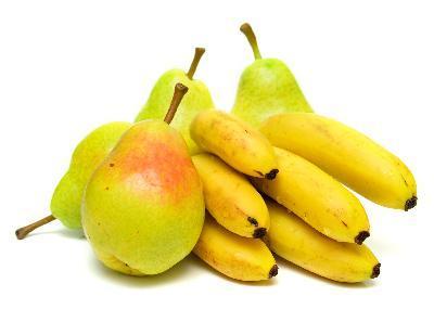Resultado de imagen para bananas y peras