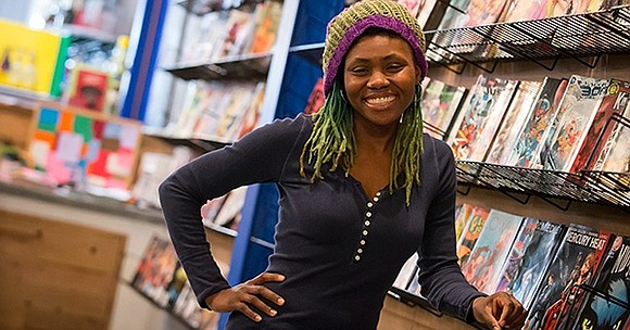 When entrepreneur Ariell Johnson opened her comic book store and coffee shop in Kensington, Pennsylvania back in December 2015, it ...