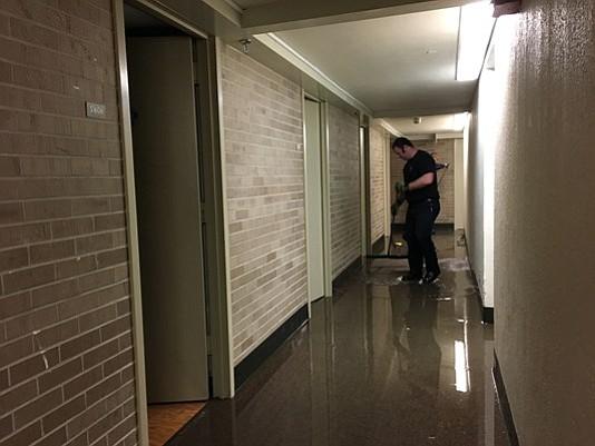 weekend recap sprinklers flood