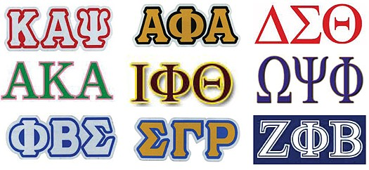 Image result for Black sororities fraternities