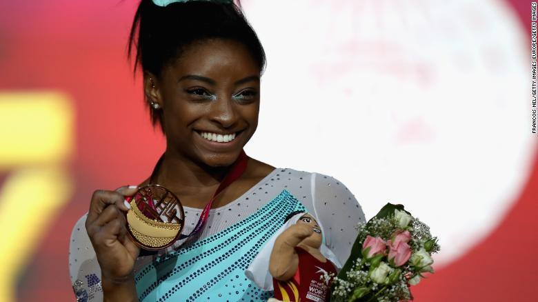 Simone Biles Wins Record 4th AllAround Title at World