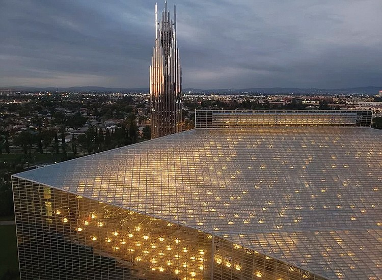 crystal cathedral former home