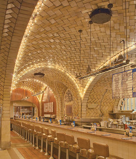 El Grand Central Oyster Bar, su obra más famosa.
