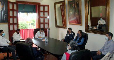 Se reúnen representantes de Bares y Cantinas, con autoridades municipales y de salud.
