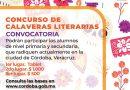 Amplían convocatoria para concurso de Calaveritas Literarias en Córdoba.