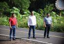 Agradece alcalde a Cuitláhuac García y Gómez Cazarín por obras en Catemaco.