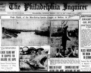 Skutečné Čelisti: Žraločí sériový zabiják rozpoutá v New Jersey peklo!