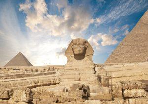 Velká sfinga v Gíze