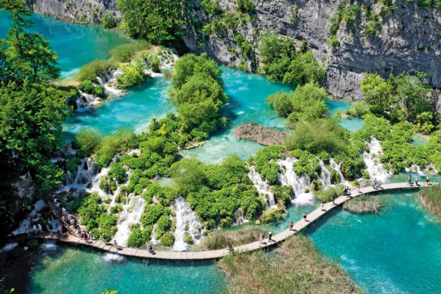 Kde válčil Vinnetou: Plitvická jezera