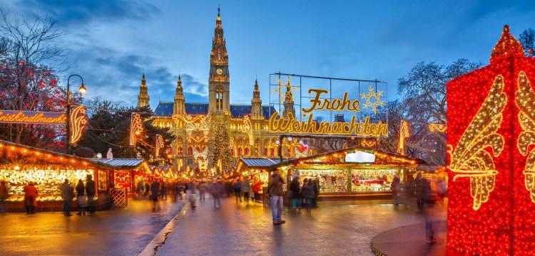 Romantická vánoční Vídeň