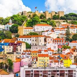 Prosluněný Lisabon
