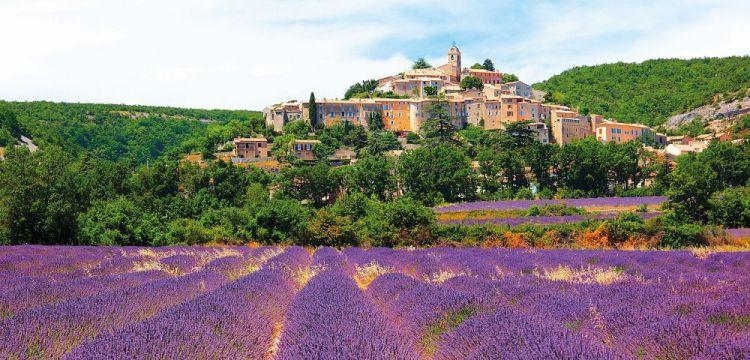 Provence: Země hradů a levandule