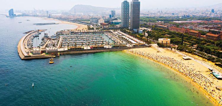 Město architektury, fotbalu a chutí, Barcelona