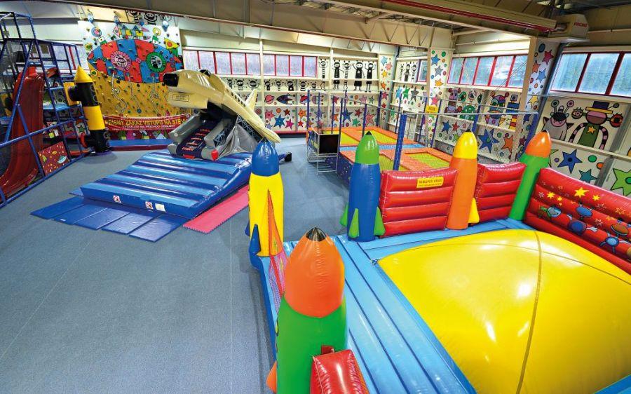 Zábava s dětmi: Parky a herny pod střechou