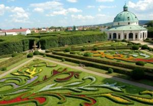 Kroměříž: Podívejte se, jak vypadá zelinářská zahrada, která se stala památkou UNESCO