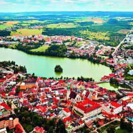 Romantické měst Jindřichův Hradec: Památky všude, kde jen oko spočine