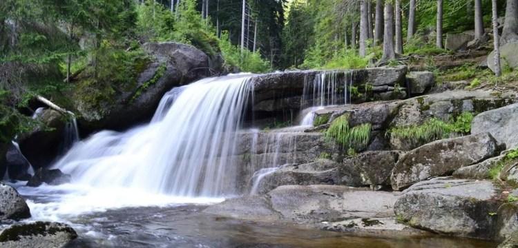 Čtyři vodopády Černé Desné