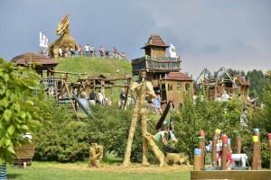 Dětský areál Šťastná země – Radvánovice