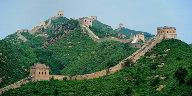 Velká čínská zeď: Je viditelná z vesmíru?