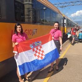 Vlakem do Chorvatska!