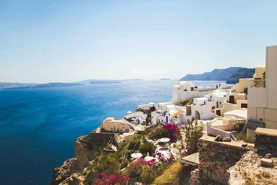 Santorini: Ráj na sopce