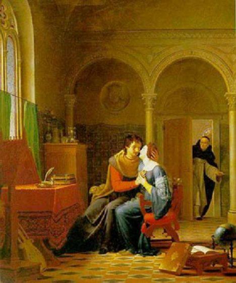 Místo učení se dvojice brzy věnuje i tělesné lásce.