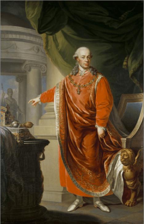 Český král Leopold II. přijede na svoji korunovaci do Prahy. Při  návštěvě ocení i české výrobky.