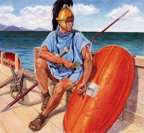 Římským legionářům voda nevadí, i když je studená.