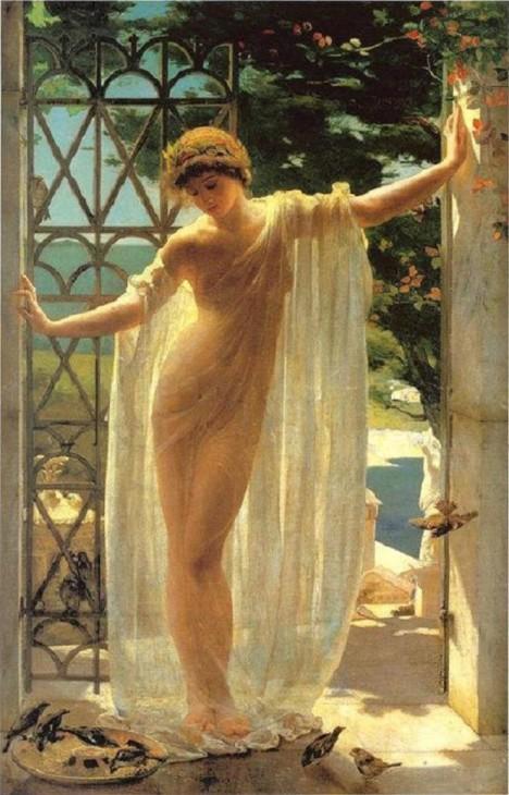 Ženy ve starém Římě mají přísný zákaz popíjet alkohol bez ohledu na věk.