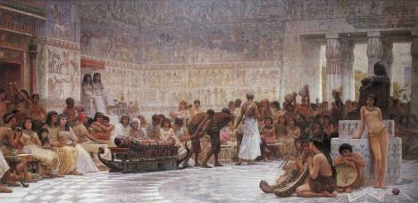 Ženy ve starověkém Egyptě se účastnily společenských radovánek. Z mužů byly nadšené. Aby jejich radovánky zůstaly bez následků, zkoušely antikoncepci.