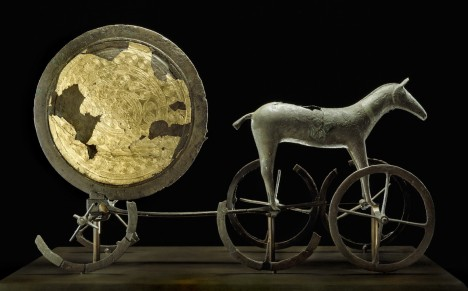 Trundholm sun chariot, late Nordic Bronze Age/1800 to 1600 BC