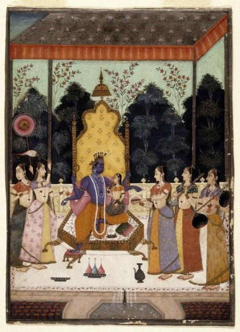 A Vision of Vishnu (Vaikuntha Darshana) - Brooklyn Museum