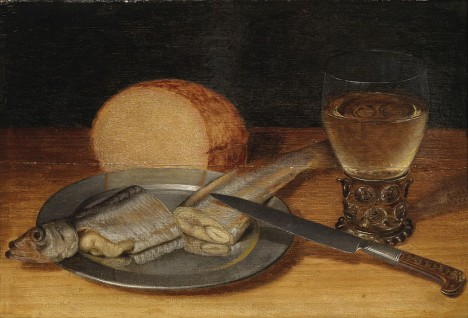 Císař se spokojí i s prostými jídly, například postní rybou.