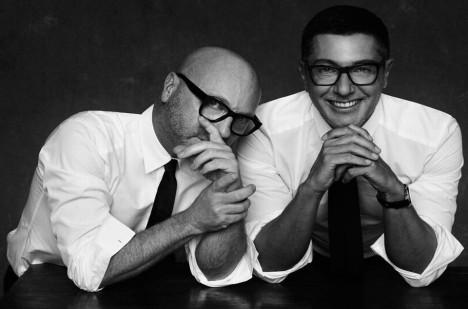 Domenico Dolce a Stefano Gabbana.