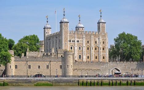 Londýnský Tower je výskytem přízraků vyhlášen.