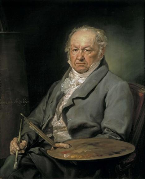 Kontroverzní španělský malíř Francesco Goya vzbudí svojí malbou společenský skandál.