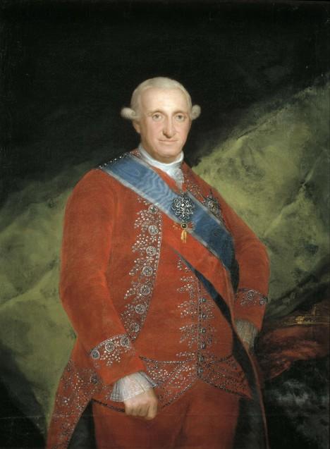 Panovník Karel IV. Španělský dá svému dvornímu malíři kvůli nemoci dovolenou.