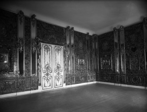 Königsberg, although this wasn't taken 'before WW2'. It's probably the last known photo of Schlüter's original Amber Room, after it was moved to Königsberg Castle during the war.