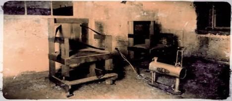 Plynová komora, kde byl popraven Gee Jon.
