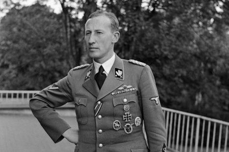 Říšský protektor Reinhard Heydrich.