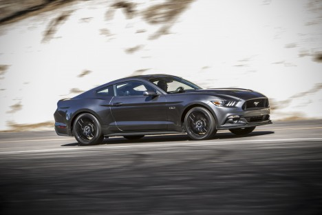 2015 Mustang Media Drive in L.A.