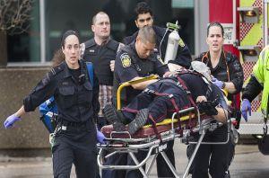VIDEO: Přestřelka u Torontského soudu
