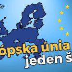 VIDEO: Jak by to vypadalo, kdyby byla Evropská unie jen jeden stát?