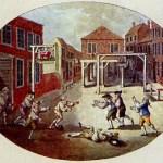 Ve středověké Anglii můžete jít za kopnutí do míče za mříže