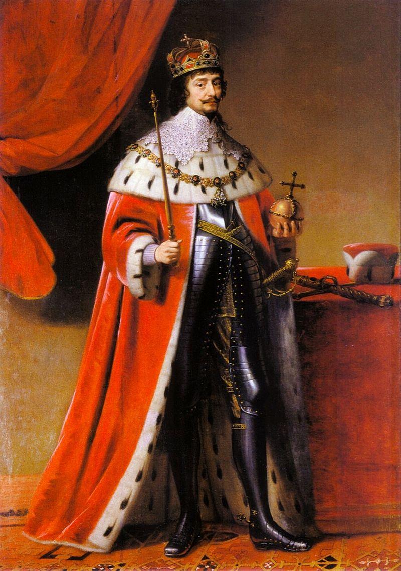 Nový český král Fridrich Falcký povýší právníka Fruweina do stavu rytířů.