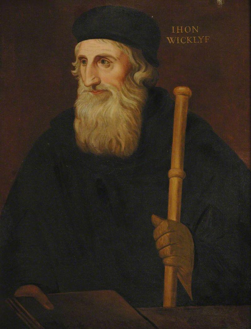 John Viklef a jeho spisy na církev působí jako rudý hadr na býka.