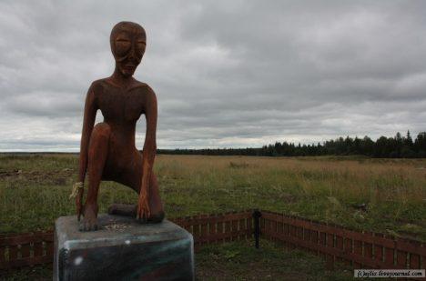 Mimozemšťany berou v Molebce jako součást místního koloritu.