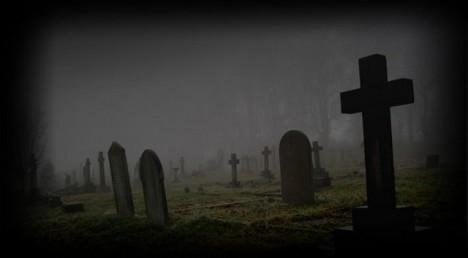 Ostrov sloužil jako hromadné pohřebiště.