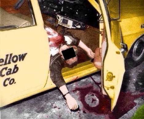 Paul Lee Stine byl zastřelen ve svém taxi.