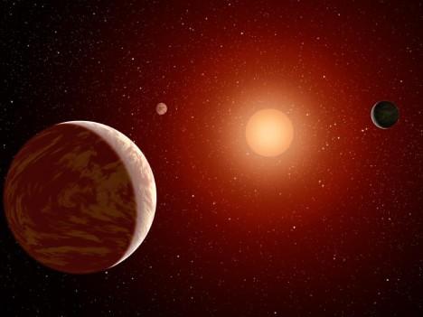 Hvězda, kolem níž Kepler-186f obíhá, je rudým trpaslíkem a vyzařuje mnohem méně světla. Proto jsou tu teploty hluboko pod bodem mrazu.